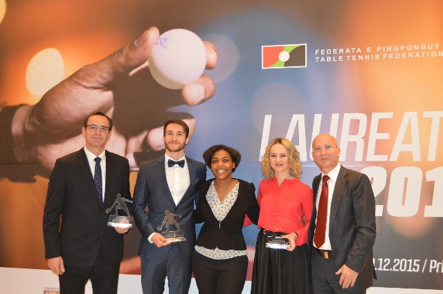 C r monie de remise de prix la f d ration de tennis de - Federation francaise tennis de table ...
